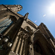 Santa Maria del Mar entrance — Stock Photo