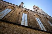 Santa Maria del mar (Sombrerers street) — Stock Photo