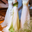 Bride dresses - Stock Photo