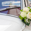 Royalty-Free Stock Photo: Decorated Wedding Car