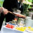 Wedding catering — Stock fotografie