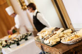 Wedding catering food — Stock Photo