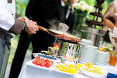Wedding catering — Stock Photo