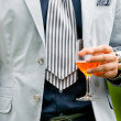 Mdrinking aperitif — Stock Photo #24222809