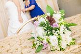 Svatební bouque — Stock fotografie