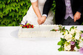 Wedding cake — Photo
