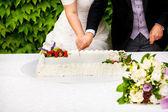 婚礼蛋糕 — 图库照片