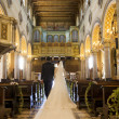 Stock Photo: Wedding church