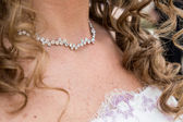 Wedding necklace — Stock Photo