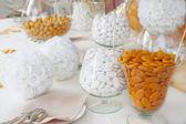 Sugared almonds — Stock Photo