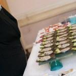buffé med aptitretare eller plockmat — Stockfoto