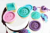 Assortiment cupcakes — Stock Photo