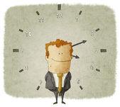 рабочее время — Стоковое фото
