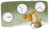 Running out of time — Foto de Stock