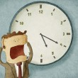 Worried out of time — Stock Photo