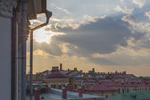 Roofs of St. Petersburg. Russia — Stock Photo