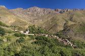 Mountain village — Stock Photo