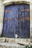 типичный исламский дверь — Стоковое фото