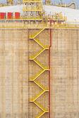 Stairs tanker — Stock Photo