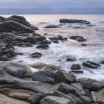 Sunrise in the sea — Stock Photo