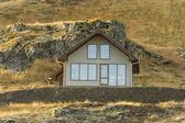 Dom-islandzki — Zdjęcie stockowe