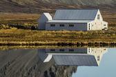 Izlandalı evleri — Stok fotoğraf