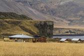 İzlandalı evleri — Stok fotoğraf
