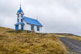Icelandic church — 图库照片