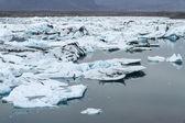 Glacier lagoon — Stock Photo
