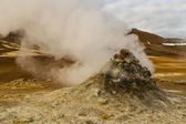 Volcanic activity — Stock Photo
