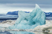 Jökulsárlón lagoon — Stock Photo