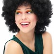 Woman with black afro hairstyle — Stock Photo #23689923