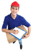 Delivery man — Stock Photo