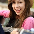 guitarplayer — Stockfoto