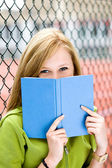 Student with book — Stock Photo