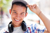 Casual teenage boy — Stock Photo