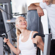 Couple at the gym — Stock Photo #27266867