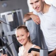 Couple at the gym — Stock Photo #27266899