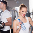Couple at the gym — Stock Photo #27268659