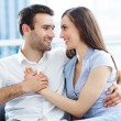 Happy young couple — Stock Photo #27659725