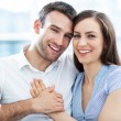 Happy young couple — Stock Photo #27659767