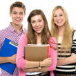 Students holding books — Stock Photo #27813285