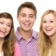 Three young friends — Stock Photo #27813713