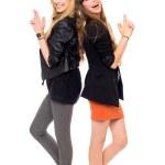 Two fashion women — Stock Photo #27817187