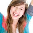 Happy teenage girl — Stock Photo #27817673