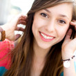 Happy teenage girl — Stock Photo #27819573