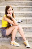 Female student — Stock Photo