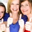 Friends with thumbs up — Stock Photo #27870329