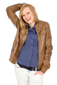 Casual young woman — Stock Photo