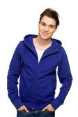 Young Man in Casual Clothes — Stock Photo